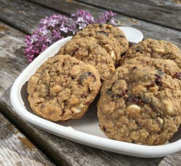 Rosie's White Chocolate Chip and Cranberry Oatmeal Cookies