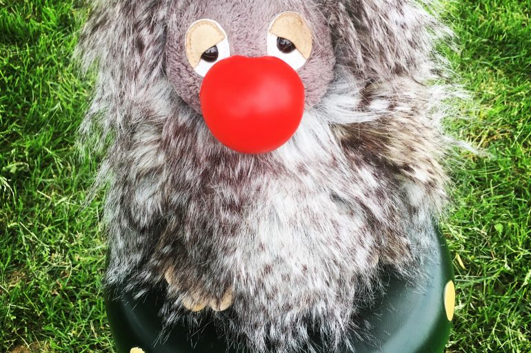 Whooo me?  Yes, you!!     Red Nose Day, May 26th
