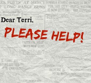 Dear Terri