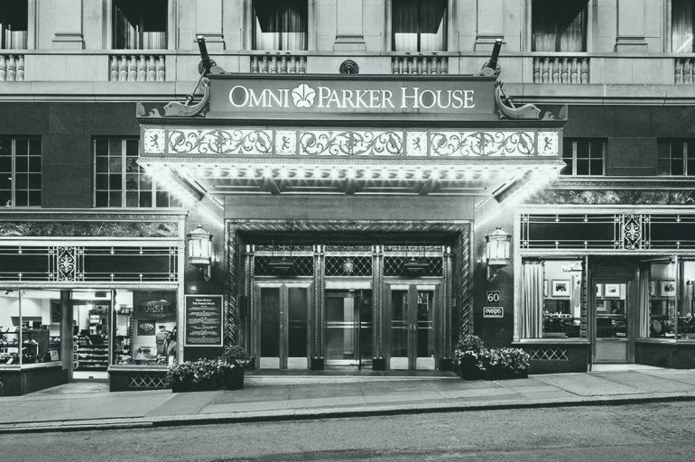 The Omni Parker House Hotel