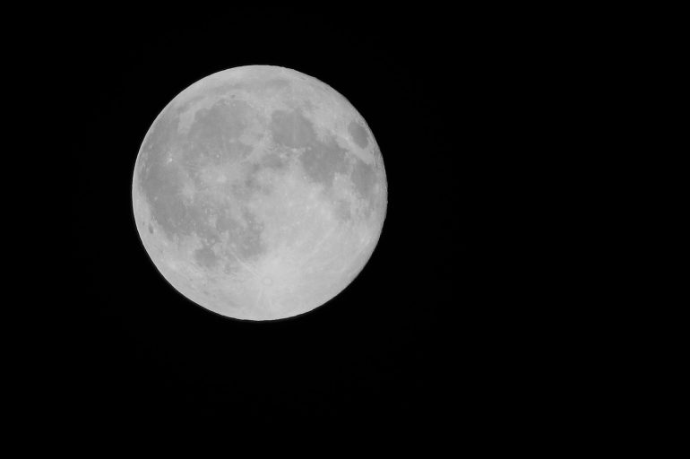 A Full Moon & Friday the 13th